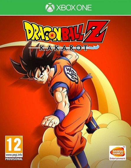 Dragon Ball Z Kakarot Xbox One Mídia Física Pronta Entreg