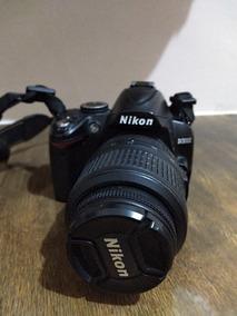 Câmera Dslr Nikon D3000 + Lente Nikoon 18-55mm