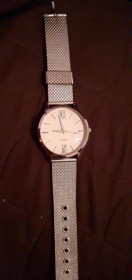 Relógio Feminino Dourado Quartz