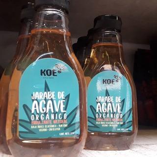 Jarabe De Agave Organico Raw Sin Gluten 330g. Agronewen