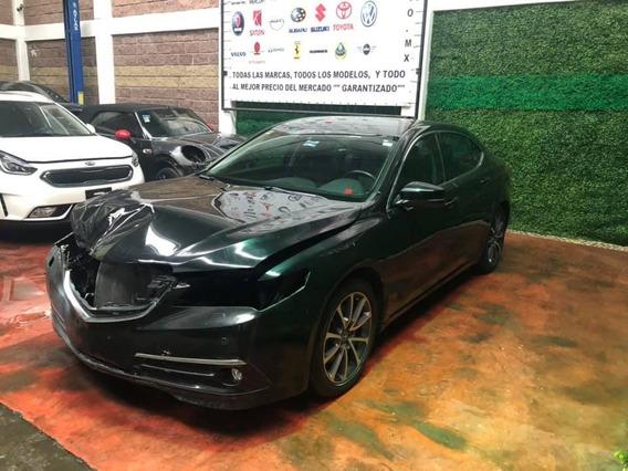 Disauto Acura Tlx Advance Piel Caminando Y Bolsas Ok 2015