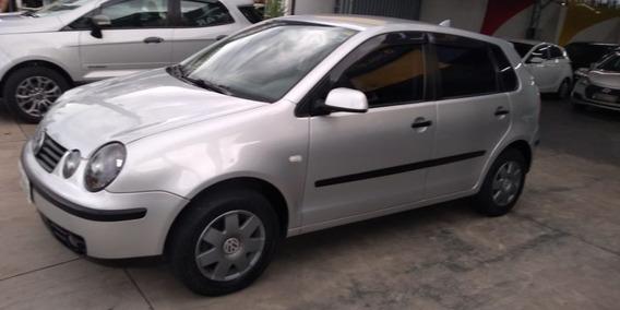 Vw- Polo 1.6 Hatch, Impecável, Pneus Novos, Bancos Em Couro
