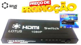 Hub Switch Hdmi Splitter Entra 5x1 Sai O Melhor Do Brasil