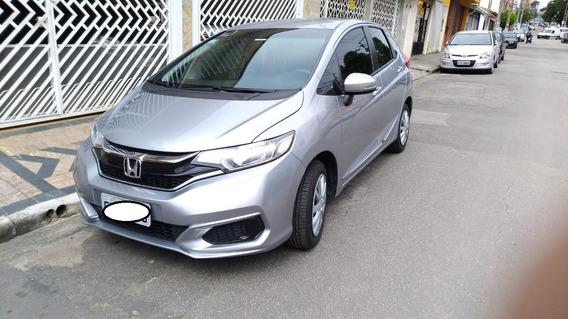 Honda Fit 2018 Com 10.400 Km - Completo E Impecável