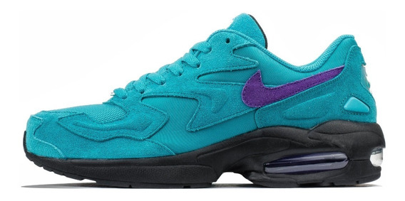 Tenis Nike Air Max 2 Light Hornets Originales Retro Grape