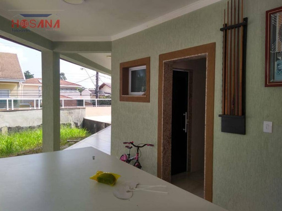 Sobrado Com 5 Dormitórios À Venda, 400 M² Por R$ 1.800.000 - Nova Caieiras - Caieiras/sp - So0937