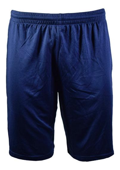 Short Topper Mix Hombre Azul Blue