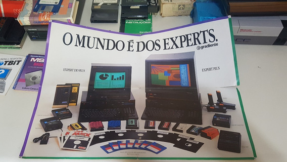 Poster Original Msx Gradiente Expert - Único No Ml
