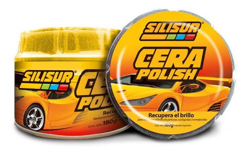 Silisur Cera Polish Pasta 180g Premium Profesional Autos