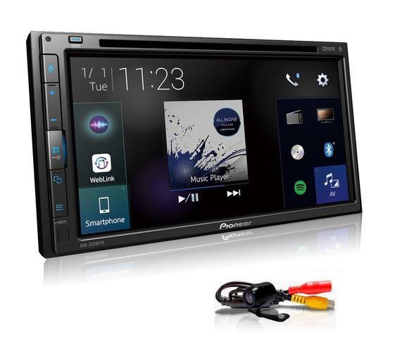 Dvd Pioneer Avh-z5280tv Bluetooth Web Link + Camera De Re