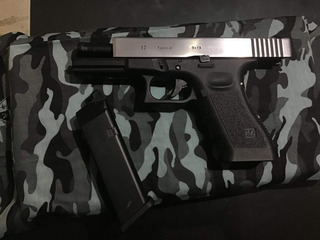 Airsoft Glock 17, Marca We Co2