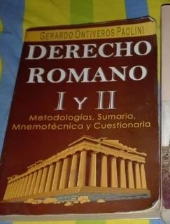 Libro De Derecho Romano I Y Ii
