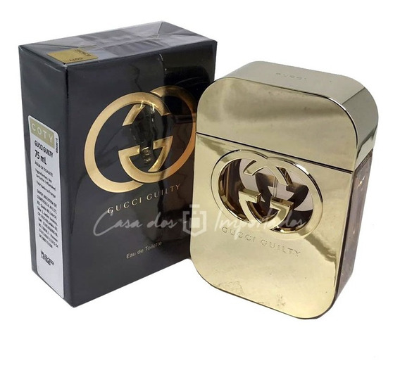 Gucci Guilty Eau De Toilette 75ml Feminino + Amostra