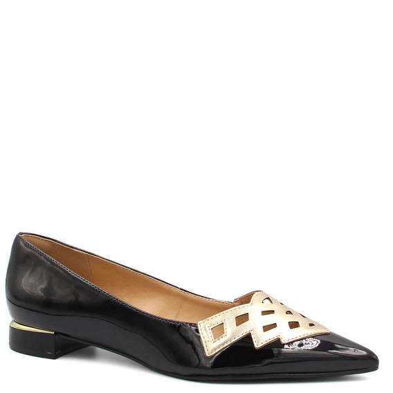 Sapatilha Zariff Shoes Bico Fino Verniz 1480503