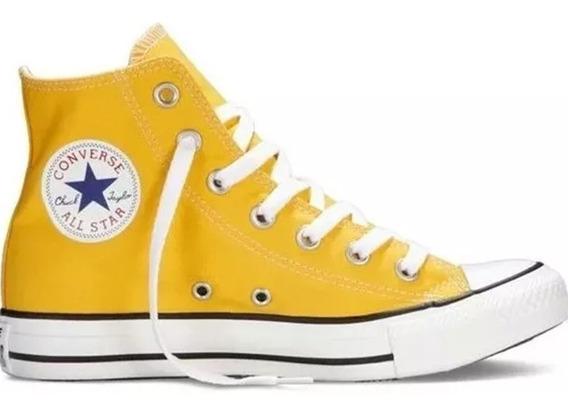 Tênis Converse All Star Chuck Taylor Cano Alto Branco Sedex