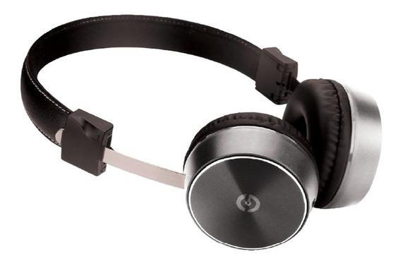 Audifonos Getttech Mesh Stereo Con Microfono 3.5mm Plata