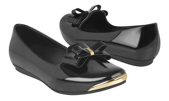 Zapatos Casuales Para Niña Miss Pink 0337-48 Negro
