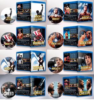 Rocky + Creed Saga Completa Bluray - Colección Especial