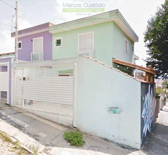 Sobrado Com 2 Dorms, Vila Curuçá, Santo André - R$ 399 Mil, Cod: 1124 - V1124
