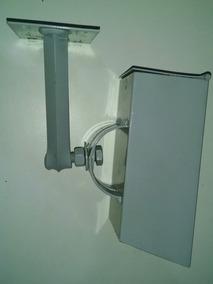 Caixa De Proteção Para Cameras - Aço 20x8cm, Ori Diam 6,5 Cm