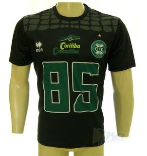 Camisa Coritiba Crocodiles Errea Futebol Usa Pto
