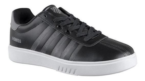 Tenis Sneakers Kswiss Caballero Casual Negro K0f294