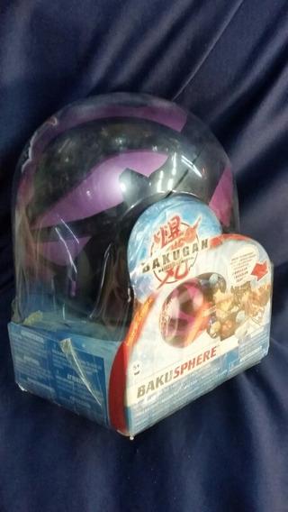 Bakusphere 2 Bakugan 1 Trampa Coleccionador Bakuespera Negra