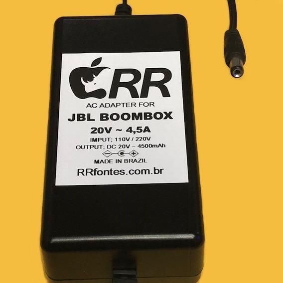 Fonte Carregador Pra Caixa Jbl Amplificada Boombox 20v 4,5a