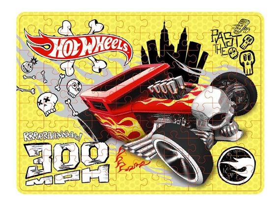 Quebra Cabeca 100 Peças - Hot Wheels Bone Shaker Y3096