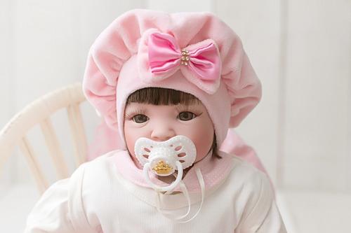 Bebê Reborn 100% Silicone Carrinho + Banheira