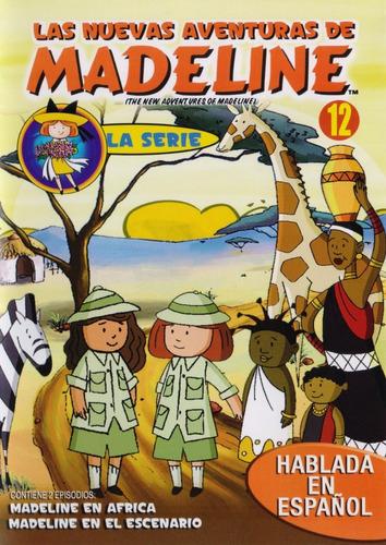 Imagen 1 de 3 de Las Nuevas Aventuras De Madeline Volumen 12 Doce Dvd