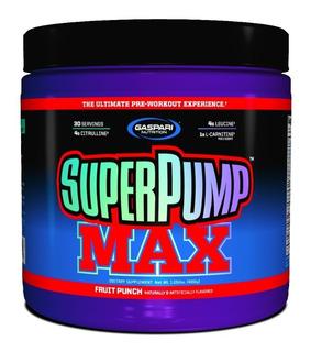 Super Pump Max 480g - Gaspari Nutrition Original Nf