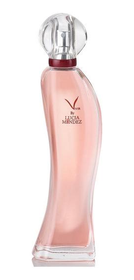 Perfume Dama Vivir By Lucía Méndez Feromonas 60ml Fuller