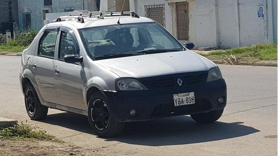 Renault Logan Año 2009 Unico Dueño Full Equipo Sin Fallas