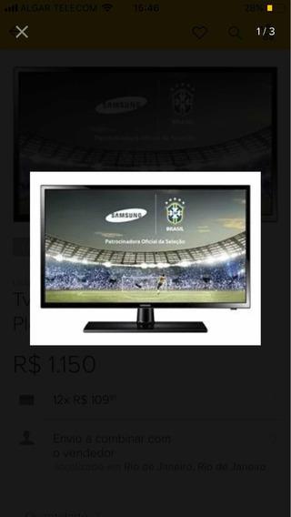 Tv Pl43f4000ag Tela Quebrada Peças Tudo Ok