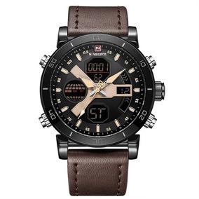 Relógio Masculino Naviforce® 9132 Analógico E Digital