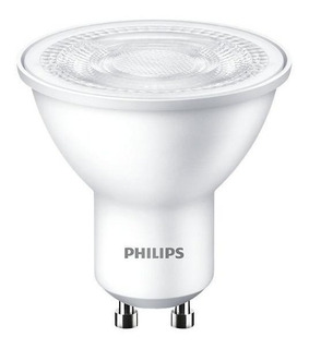 Pack X10 Dicroicas Led Philips Gu10 5w = 50w Calidas Frias