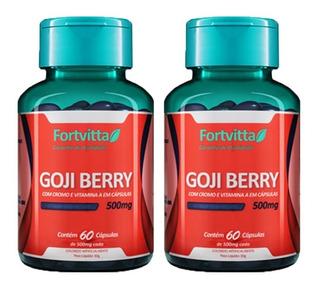Goji Berry - 60 Cápsulas (2 Unidades) - Fortvitta