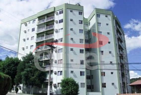 Edifício Villa Verde, Apartamento 3 Dormitorios, 1 Vaga De Garagem, Fortaleza, Blumenau, Santa Catarina - Ap00626 - 33382096