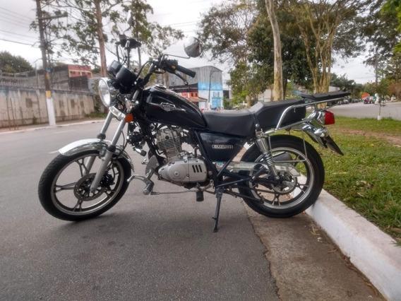 Suzuki Gn Intruder 125 Ed 15/16 - Preço De Black Friday