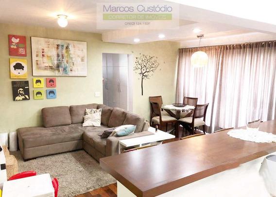 Apartamento Com 3 Dorms, Santa Maria, São Caetano Do Sul - R$ 700 Mil, Cod: 1178 - V1178