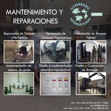 Cámara Hiperbárica - Mantenimiento Y Reparación - Barosala