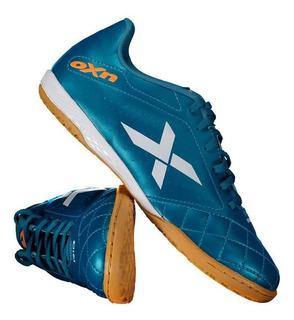 Chuteira Oxn Rio Futsal Azul