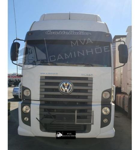 Imagem 1 de 11 de Caminhão Volkswagen 25-390 - 6x2 T Teto Alto