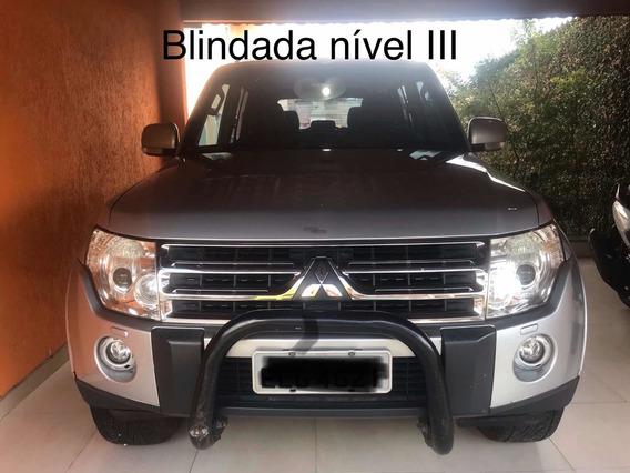 Pajero Full 2009 Blindada