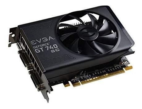 Placa De Video Evga Nvidia Geforce Gt 740 Sc 1gb Gddr5