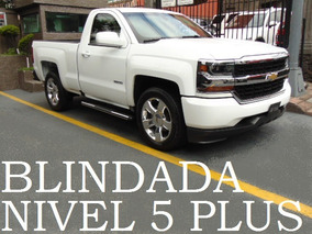 Pickup Silverado 2016 Blindada Nivel 5+ Blindaje Blindado