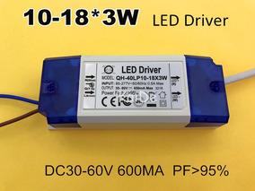 Driver Para Ligar 10 A 18 Led 3w 650ma Pronta Entrega