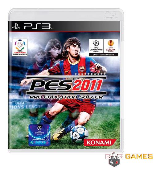 Pro Evolution Soccer Pes 2011 - Ps3 - Midia Fisica