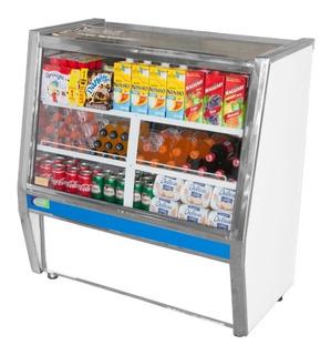 Balcão Refrigerado Pop Line 1 Mt Vidro Reto Refrigel 220v